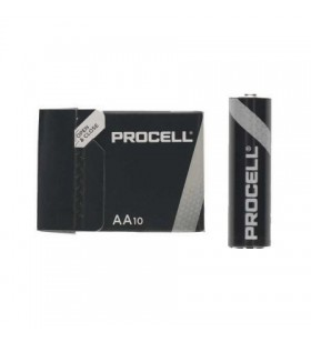 Pack de 10 Pilas AA LR6 Duracell PROCELL ID1500IPX10 ID1500IPX10