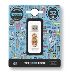 Pendrive 32GB Tech One Tech Emojitech No TEC4503-32