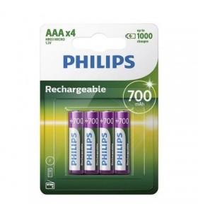 Pack de 4 Pilas AAA Philips R03B4A70 R03B4A70/10