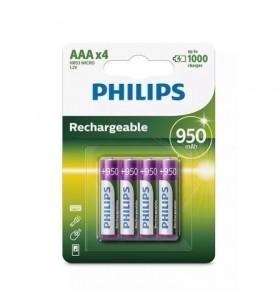 Pack de 4 Pilas AAA Philips R03B4A95 R03B4A95/10