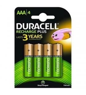 Pack de 4 Pilas AAA Duracell HR3 HR3-B