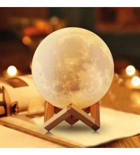Lámpara Decorativa Jocca Luna 3D/ 3 Modos de Iluminación 1244