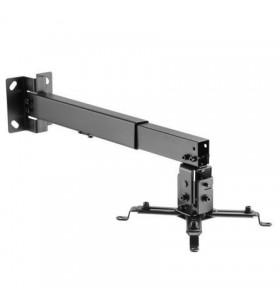 Soporte de techo/ pared para proyector aisens cwp01tse-047/ inclinable-extensible/ hasta 20kg AISENS