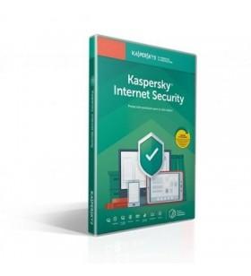 Antivirus Kaspersky Internet Security 2020/ 1 Dispositivo/ 1 Año venta con pc KL1939S5AFS-20MSBASEM