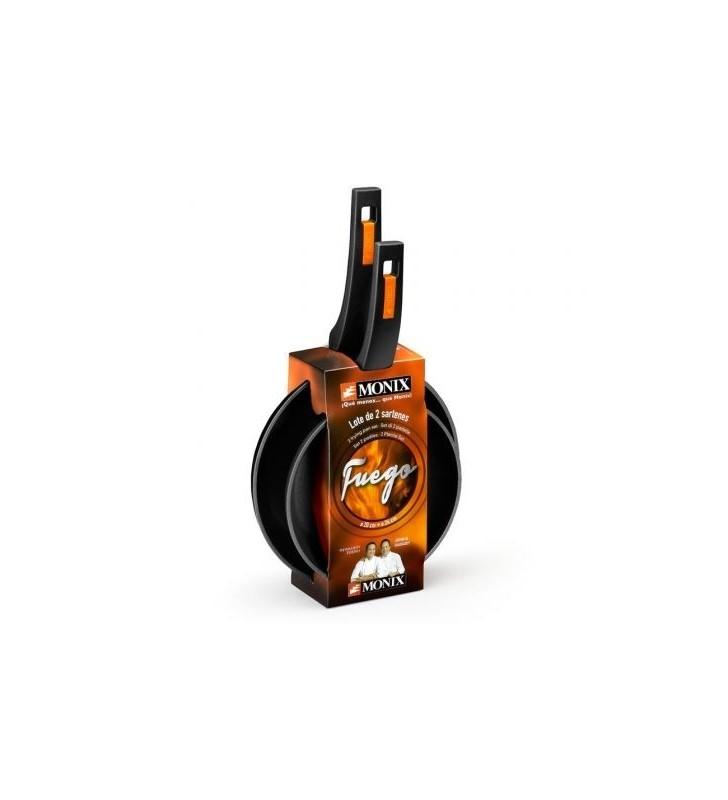 Pack 2 Sartenes Monix Fuego M821202