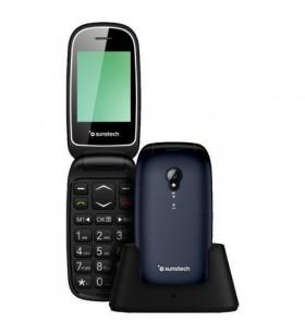 Teléfono Móvil Sunstech CELT17 para Personas Mayores/ Azul CELT17BL