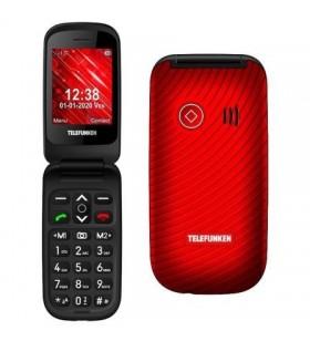 Teléfono Móvil Telefunken S440 para Personas Mayores TF-GSM-440-CAR-RD