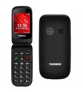 Teléfono Móvil Telefunken S440 para Personas Mayores TF-GSM-440-CAR-BK