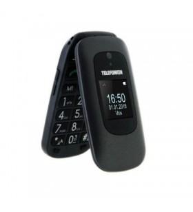 Teléfono Móvil Telefunken TM 250 para Personas Mayores/ Negro Izy TTM00250BE