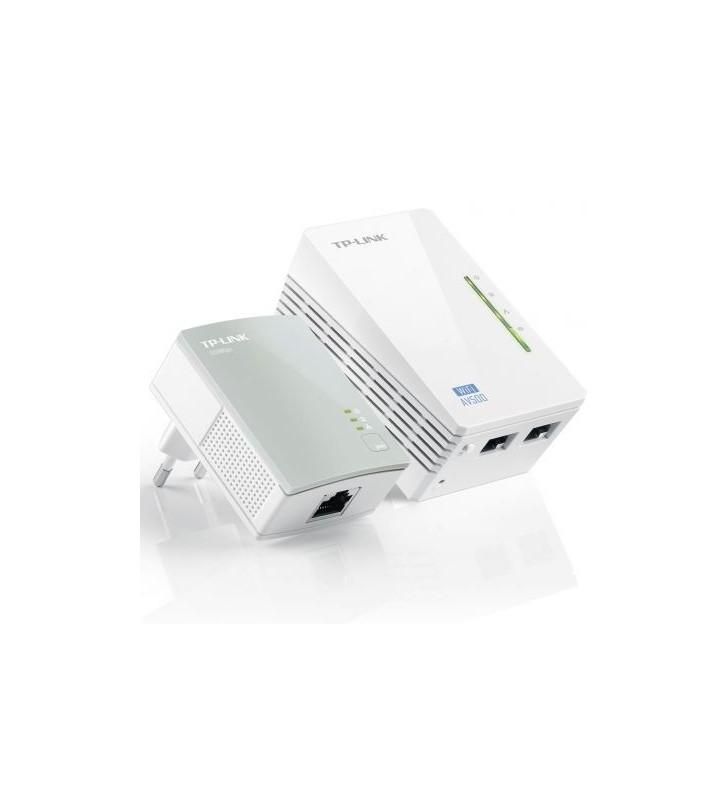 Adaptador Powerline TPLink WPA4220Kit 500Mbps TL-WPA4220KIT