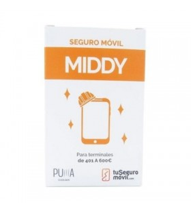 Seguro de Daño Puma MIDDY entre 401 a 600 euros para Smartphones 401A600