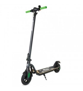 Patinete eléctrico olsson ecoride/ motor 250w/ ruedas 8'/ 15km/h/ hasta 120kg/ verde y negro OLSSON
