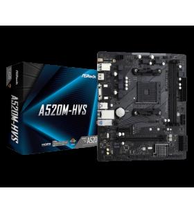 Asrock A520M-HVS Zócalo AM4 Micro ATX 90-MXBE60-A0UAYZ
