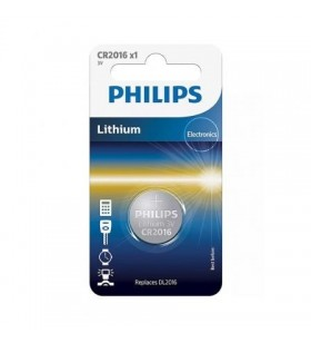 Pila de Botón Philips CR2016 CR2016/01B