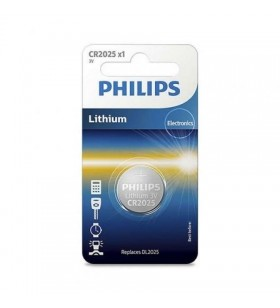 Pila de Botón Philips CR2025 CR2025/01B