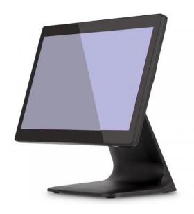 TPV paracomercio táctil, con todos los dispositivos necesarios; software de gestión y contabilidad, cajón aluminio negro con...