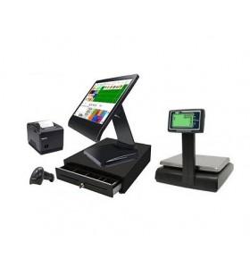 TPV Comercio Táctil con Balanza Tpv comercio compacto completo táctil mas balanza dibal g-325, impresora térmica de ticket, c...