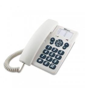 Teléfono spc original 3602/ blanco SPC TELECOM