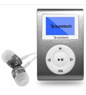 Reproductor MP3 Sunstech Dedalo III DEDALOIII8GBGY