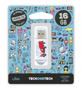 Pendrive 16GB Tech One Tech Camper VAN TEC4004-16