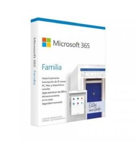 Microsoft Office 365 Familia 6GQ-01167