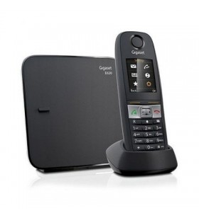 Teléfono inalámbrico gigaset e630/ negro GIGASET
