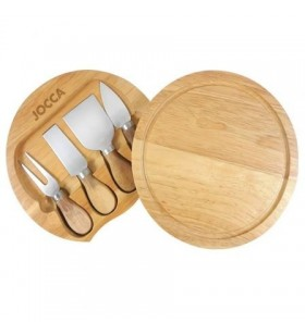 Set de Tabla y Cuchillos para Queso Jocca 5182 5182