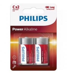 Pack de 2 Pilas C Philips LR14P2B LR14P2B/10