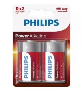 Pack de 2 Pilas D Philips LR20P2B LR20P2B/10