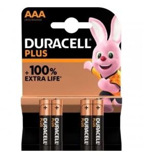 Pack de 4 Pilas AAA Duracell Plus MN2400 MN2400