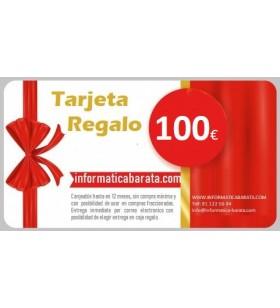 Tarjeta Regalo de 100€ para informaticabarata.com Entrega de código de forma inmediata por email al realizar la compra. Si in...