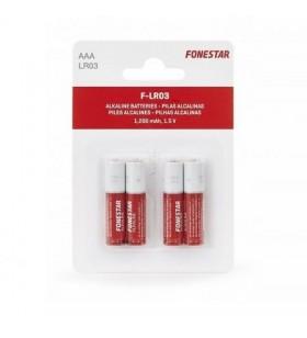 Pack de 4 Pilas AAA Fonestar LR03 F-LR03