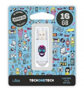 Pendrive 16GB Tech One Tech Calavera Maya USB 2.0 TEC4008-16